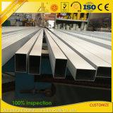 De Fabrikant die van het aluminium het Anodiseren Ovaal Aluminium/Vierkant/Ronde/vlak Buis leveren