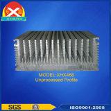 Dissipatore di calore di alluminio dell'espulsione di disegno personalizzato fabbrica cinese