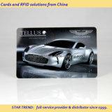 Cartão de combustível pré-pago feito de PVC com fita magnética (ISO 7811)