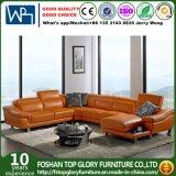 A mobília ajustada da sala de visitas do sofá de couro alaranjado moderno (TG-G2293)