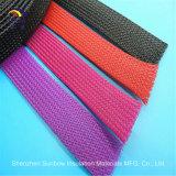RoHSペット拡張可能編みこみのスリーブを付ける多彩な袖