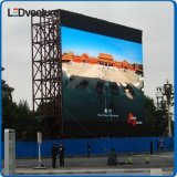 El panel de pared video a todo color al aire libre del LED