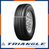 Neumático fuerte estupendo de la tracción de la seguridad del triángulo Trs03 y del carro de la flotación
