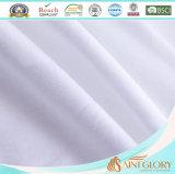 Ganso blanco de lujo del pato abajo que llena la almohadilla del cuello para el uso del hotel y del hogar