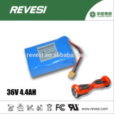 High Power 18650 Cell 36V 4.4ah Lithium Battery for Blance Scooter