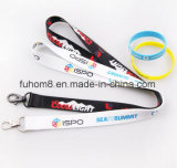 Customized Fashion Printing Polyester / Nylon Woven Lanyard