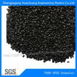Черный Гранулы PA66GF25 для Nylon изолирующей полосой
