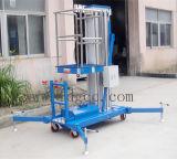 mastro de alumínio móvel da plataforma de trabalho 10meter único (GTWY10-100)