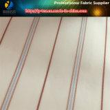 Grmentのライニング(S50.52)のためのポリエステルヤーンの染められた縞によって編まれるファブリック
