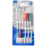 Toothbrush da embalagem Multi-PCS com massagem (065-3)