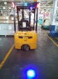 Lumière 9V - lumière d'endroit lumineux de sûreté de chariot élévateur de DEL de bleu de 80V DEL 10W