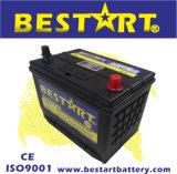 batterie de voiture de véhicule électrique d'automobile de 12V 65ah 75D26L exempt d'entretien