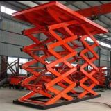 L'acciaio stazionario ha saldato il sollevamento dell'automobile della Tabella di elevatore idraulico da 1 tonnellata