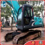 excavador usado 1~1.5m3bucket de la correa eslabonada de Japón Kobelco Sk200-8 para la maquinaria usada