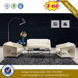Sofá de escritório de couro de vaca superior elegante moderno chinês (HX-CS050)