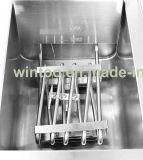 Friggitrice piana profonda elettrica del pollo con i colpetti di scolo con Ce (WF-101V)
