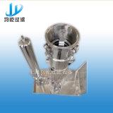 Filtro de bolso movible industrial de la categoría alimenticia del filtro del acero inoxidable solo
