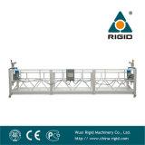 Gondole de construction de nettoyage de guichet Zlp630 en aluminium