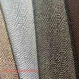 Wolle-Gewebe-Polyester-Gewebe-Rayon-Gewebespandex-Gewebe gesponnenes Gewebe-Herringbone Gewebe für Mantel-Klage-Hose-Kleid