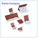 Caixa de jóia feita sob encomenda de veludo de Promitional