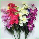 Orquídea falsa de seda de las flores artificiales para la decoración casera