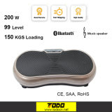 ¡Caliente! Ultrathin Body Slim Machine Mini Vibration Plate Crazy Fit Masajeador