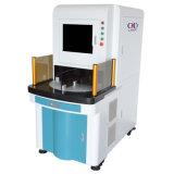 Machine rotatoire de scellage d'inscription de laser de fibre pour métallifère et non-métallifère