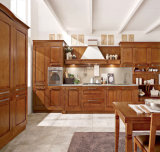 Klassische Art-Küche-Möbel-festes Holz-Küche