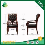 Elegante Art-König Throne Chair für Standardschlafzimmer in der Buche (ZSC-84)