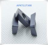 Cutoutil Apkt11t308 per l'alternativa d'acciaio per Zcc  Inserti di macinazione del carburo