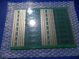 Tarjeta de circuitos del PWB del panel del oro de la inmersión Fr4 con verde