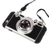 Handy-Rechtssache 3 in 1 Shockproof hartem Kristallkasten der Kamera-3D für iPhone 7 6 4.7 Plus