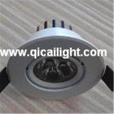 Shell blanco 3X1w LED Downlight