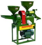 Rizerie machine y compris le riz Machine, Pulverizer, Moteur et châssis