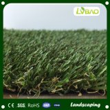 Bestes synthetisches künstliches/synthetisches Rasen-Gras für äußere Bodenbelag-Dekoration