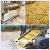 Pommes frites automatiques industrielles de pommes chips enlevant les machines de refroidissement de blanchiment de découpage