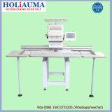 Holiauma Machine à tricoter ordinateur à tête unique avec haute vitesse pour T-shirt Cap Chaussures Fonction de broderie plate