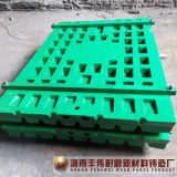 Desgaste da alta qualidade - peças resistentes do triturador de maxila para C106