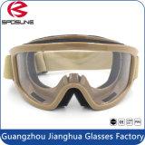 China-Hersteller Wholesale Airsoft TPU Rahmen PC Objektiv-ballistische Schutzbrillen