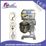machines planétaires de boulangerie de mélangeur du gâteau 20L