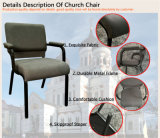 [إكسم-ك063] صناعة خاصّ تصميم كنيسة كرسي تثبيت مع متّكأ