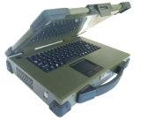 caisse militaire raboteuse portative d'ordinateur de 14.1 pouces