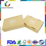 Boîte ondulée pliable personnalisée avec impression couleur pour l'emballage du produit