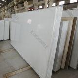 Камень кварца Shenzhen белый на Countertop 170317 кухни