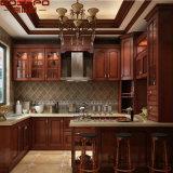 Шкаф европейской кухни твердой древесины типа вися (GSP10-002)