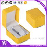 Способ напечатал упаковывая коробку вахты ювелирных изделий кожи индикации подарка