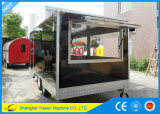 Ys-Fb450 remorque incluse multifonctionnelle Kebab mobile Van