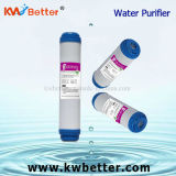 Cartuccia del depuratore di acqua di Udf con la cartuccia di filtro da trattamento delle acque