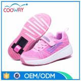 New Design OEM Kids Roller Shoes with Single Wheel