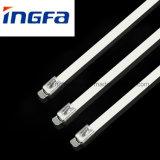 Ataduras de cables del acero inoxidable del metal con SGS RoHS